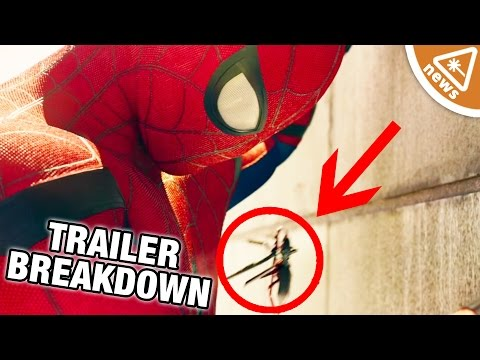 7 Things You Missed in the Spider-Man Homecoming Trailer! (Nerdist News w/ Jessica Chobot)