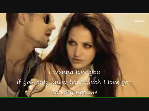 Enrique Iglesias - Why Not Me - Video Montage+Lyrics