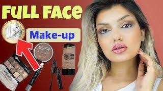 FULL FACE nur mit 1 € Makeup ‼️ Euroshop im LIVE Test I Nadjma