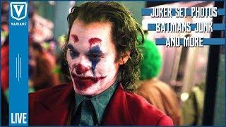 Variant LIVE: Joker Set Photos, Batman