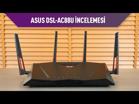 Asus DSL-AC88U Modem Router incelemesi
