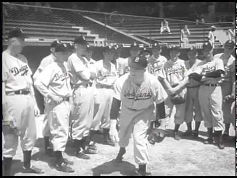 Brooklyn Dodgers at Spring Training in 1948 Jackie Robinson - YouTube edb7556ca73