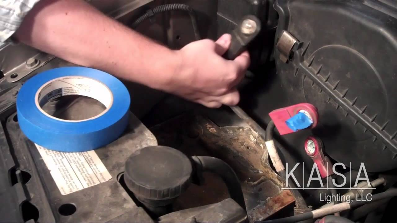 Hid Installion On A 1999 Chevy Tahoe Youtube Kensun Wiring Diagram