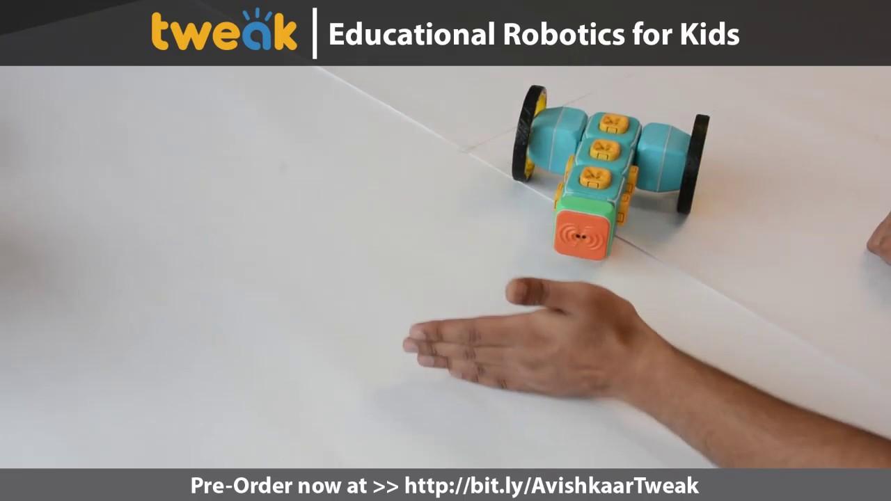 Tweak: The Interactive Robotics Kit for Children