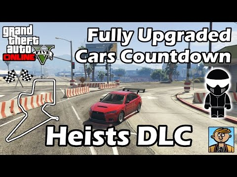 Fastest Heists DLC Vehicles - Best Fully Upgraded Cars In GTA Online
