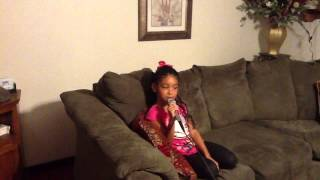 "7yr old sings Betty Wright ""After the Pain"""