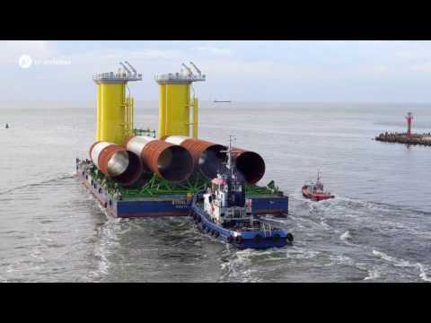 Load-out & Transportation: from ST³ Offshore Site to the Baltic Sea