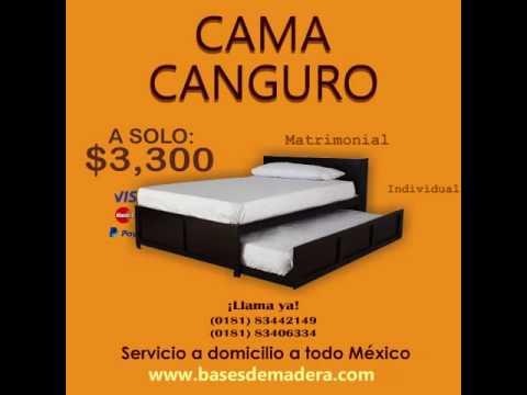 Cama canguro matrimonial matrimonial youtube for Cama canguro matrimonial
