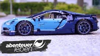 Ein Sportwagen aus Legosteinen - der Lego Bugatti Chiron | Abenteuer Leben | kabel eins