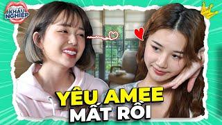 AMEE cute phô mai que làm tim Linh TAN CHẢY | THÍCH KHẨU NGHIỆP #2