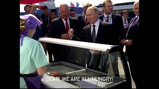 FUNNY: 'You can afford it!' Putin buys officials ice cream at MAKS Air Show