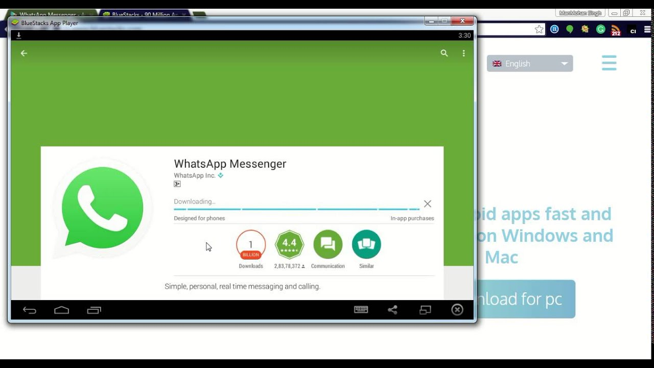 Download whatsapp for pc installation and use online process youtube stopboris Images