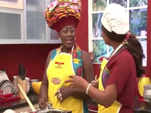 ABEN SHOW,Joyce Akumaa Dongotey-Padi (known in public life as Akumaa Mama Zimbi) in the house.