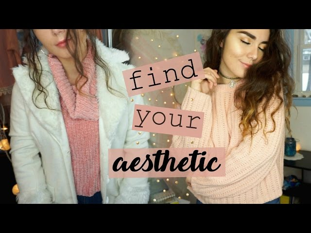 How to Find your Aesthetic | + thrift outfits