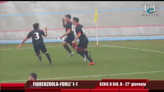 Serie D Girone D Fiorenzuola-Forlì 1-1