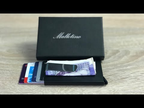 malletino-ultra-slim-card-wallet-unboxing