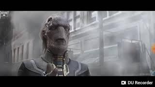 Pelea en la ciudad Avengers Infinity War parte 1/2