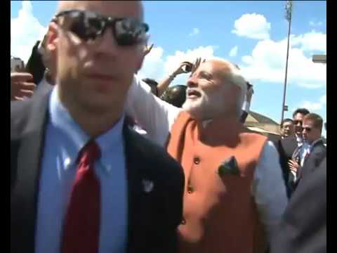 PM Narendra Modi's arrival in Washington DC,  United States