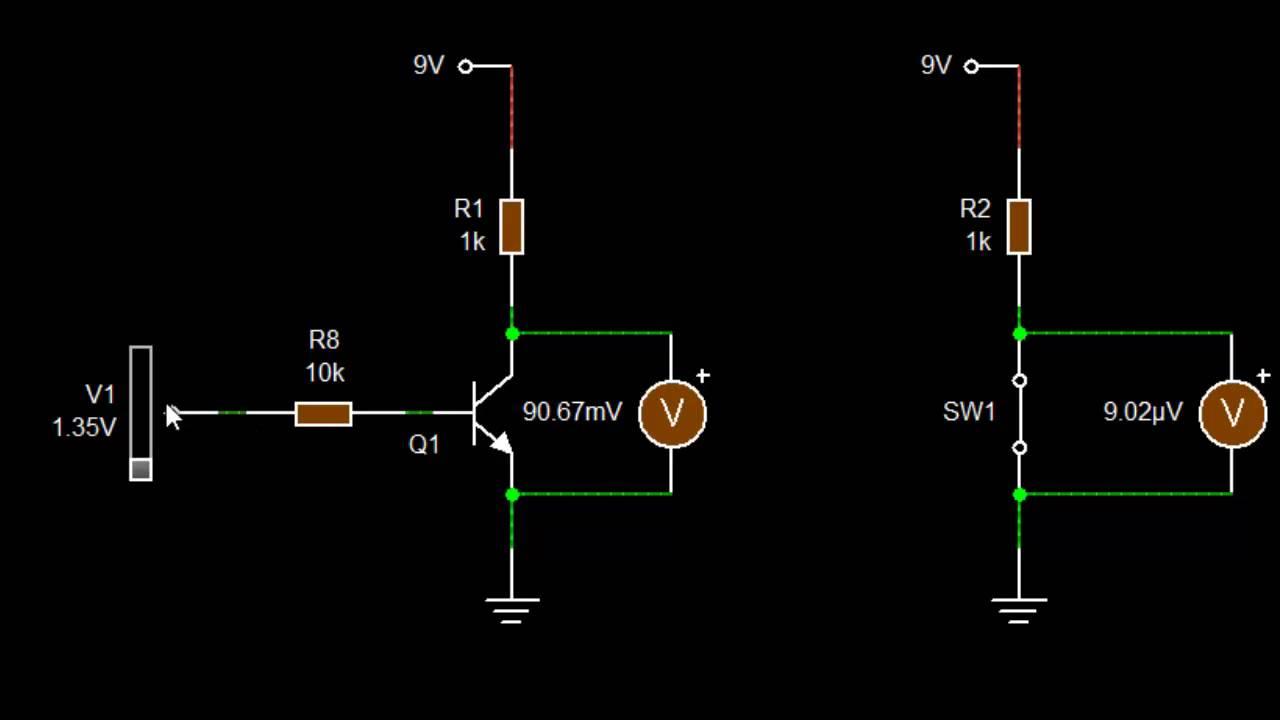 دورة الالكترونيات العملية :: 62- كيف يعمل الترانزستور