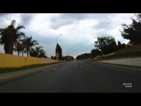 Ride from Sandton to Randburg (Johannesburg, South Africa)