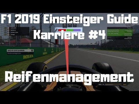 F1 2019 Einsteiger Guide #4 Reifenmanagement