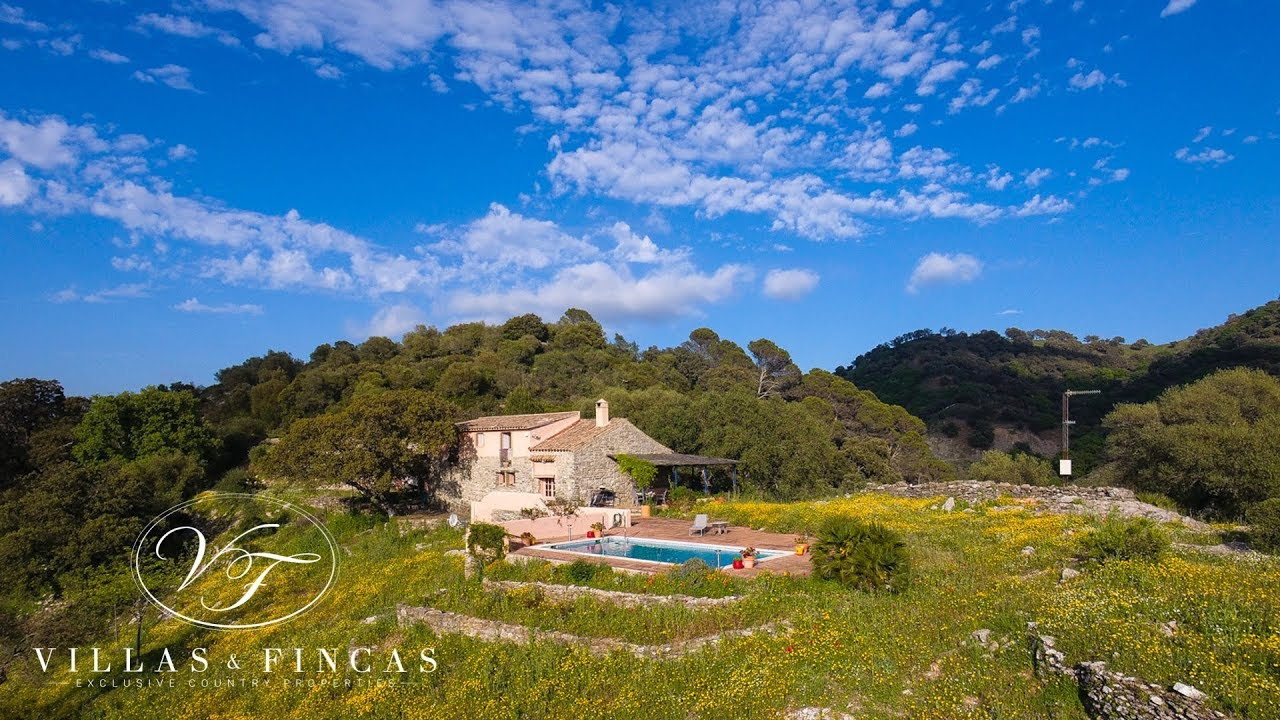 Charming Stone Cottage For Sale in Gaucin, Malaga, Andalusia