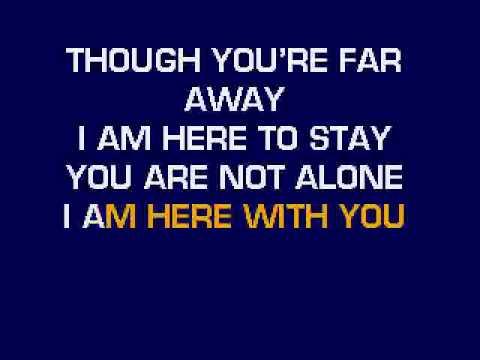 Michael Jackson - You Are Not Alone Karaoke