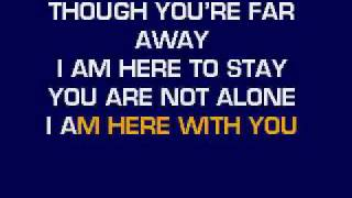 Michael Jackson - You Are Not Alone Karaoke