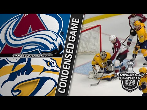 04/12/18 First Round, Gm1: Avalanche @ Predators