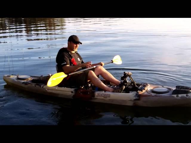Jackson Cuda 12 Kayak Review on the water