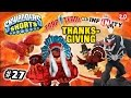 Skylanders Shorts: Episode 27 - Disney Infinity Invades Thanksgiving Day! (2.0 vs. Trap Team)