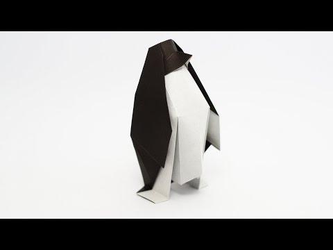 Hur man viker en pingvin