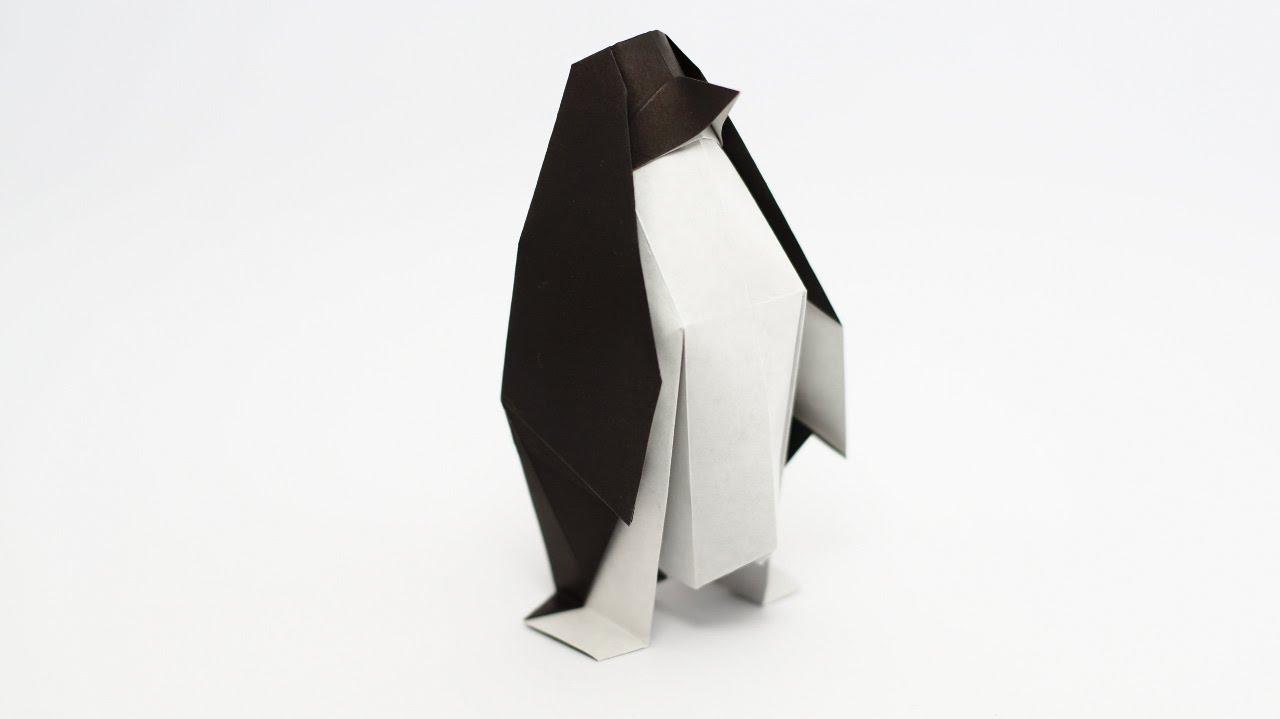 Papercraft Origami Penguin (Jo Nakashima)