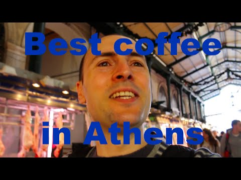 Athens Central Market - Best coffee in Athens Dutchified