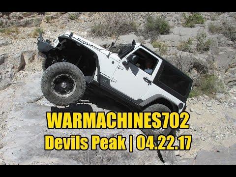 Warmachines702 - Rock Crawling - Devils Peak 4x4 trail - 04.22.17