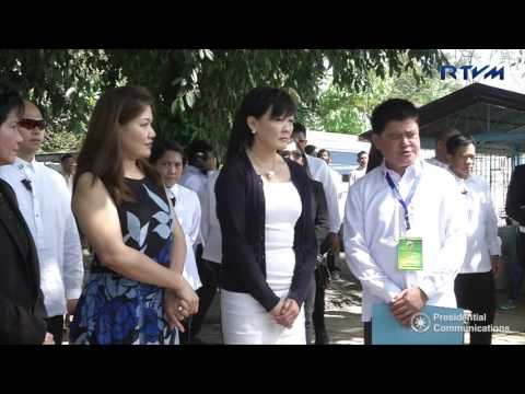 Visit of Akie Abe to Mintal Cemetery NEWSMATS
