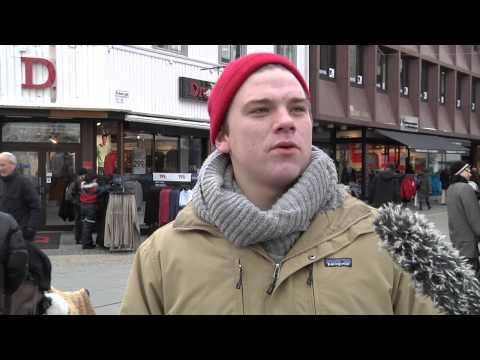Fem på gata i Kristiansand