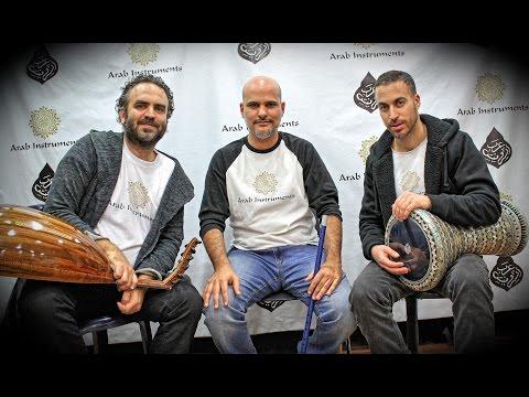 "Arab Instruments Trio - ""Karoun karoun ""  Oud Darbuka & Ney"