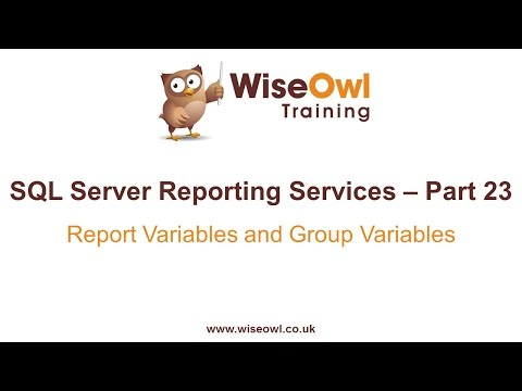 Reporting Services (SSRS) Part 23 - Report Variables And Group Variables