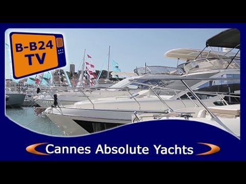 Cannes Yachting Festival 2016 – Absolute Yachts – Dealers – Boats - People