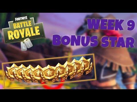 WEEK 9 BONUS STAR LOCATION – SEASON 6 | Fortnite Battle Royale
