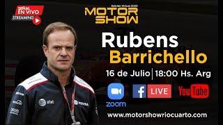 Entrevista a Rubens Barrichello - Motor Show Río Cuarto 2020