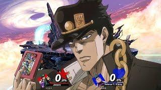 Jotaro plays Super Smash Bros Ultimate