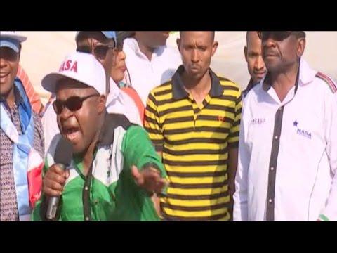 Chris Wamalwa speech at the NASA rally in Nairobi