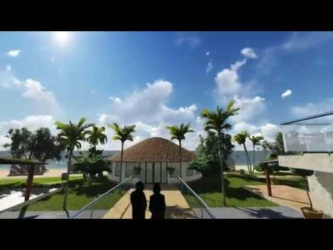 Kribi Hotel 3D Animation