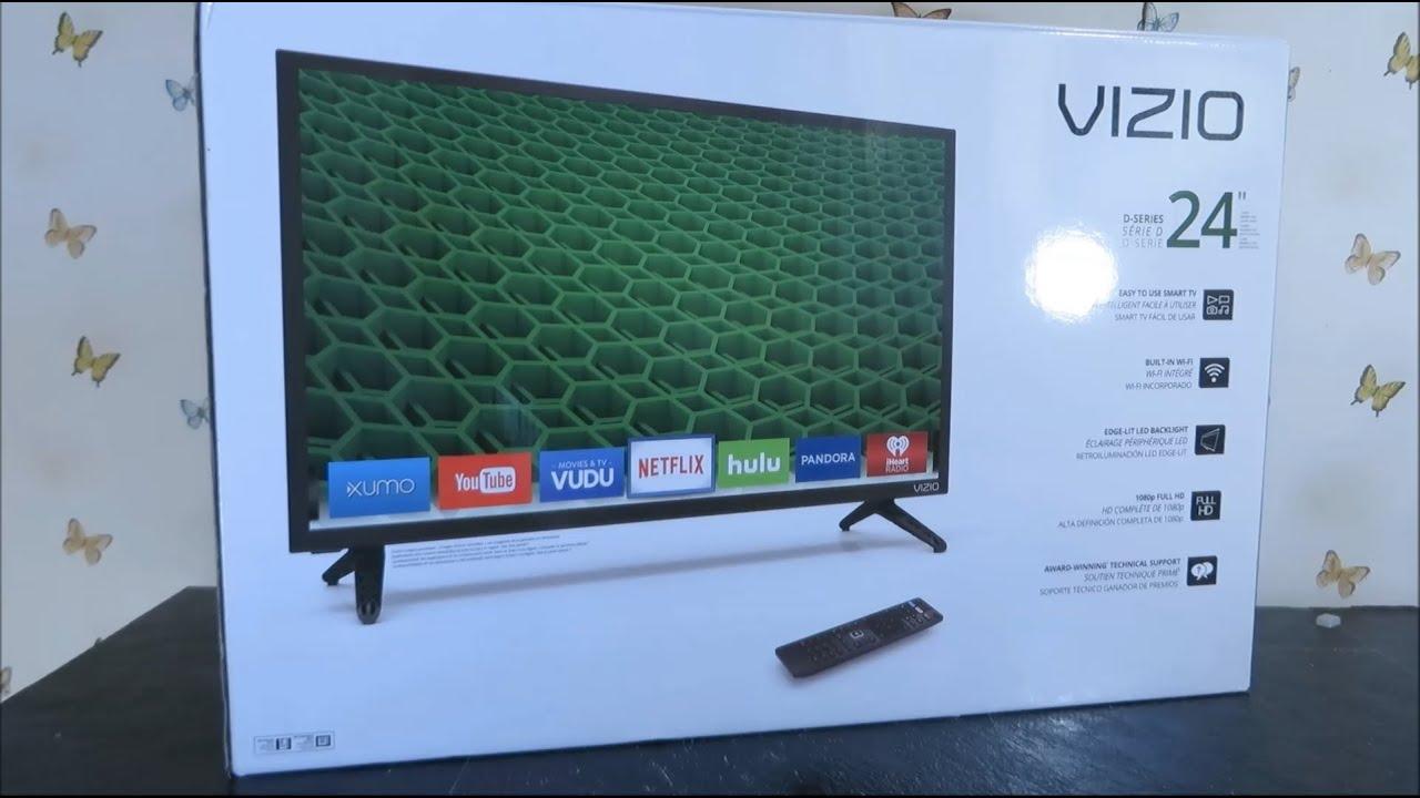 vizio 24 d24 d1 smart tv review 2016 youtube. Black Bedroom Furniture Sets. Home Design Ideas