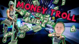 MONEY TROLL | Fortnite Battle Royale