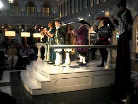 Venetian Opera singer Vegas 2012