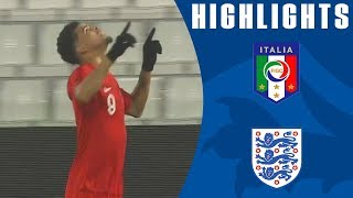 Italy U21 1-2 England U21 | Solanke Scores Two as Henderson Impresses! | Official Highlights
