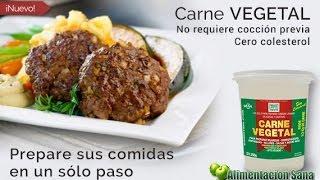 Comida Sana: Carne Vegetal